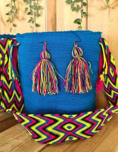 Bolso Wayuu Artesanal,Auténtico y Original (sólo 1 igual) LISO L