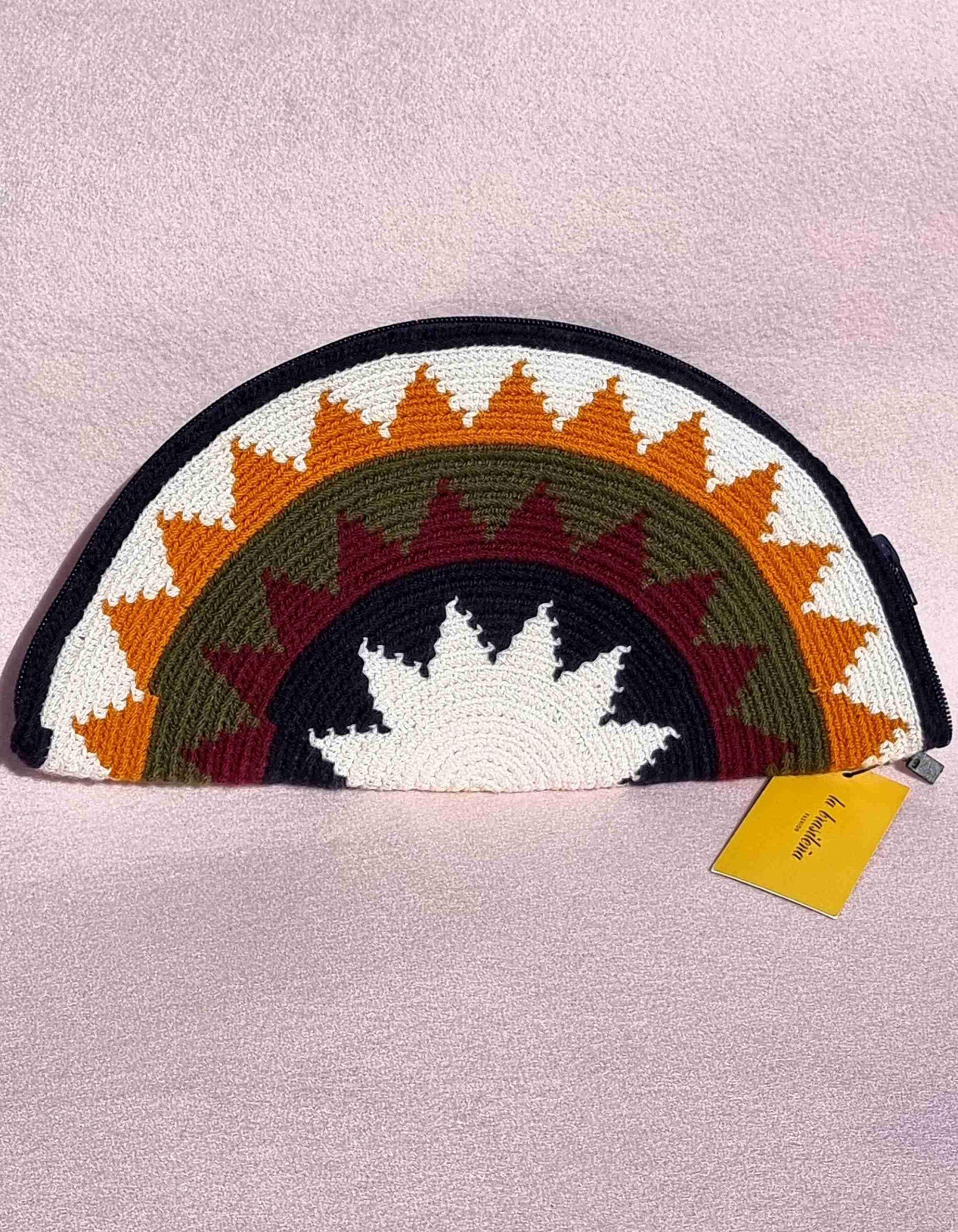 Cartera Wayuu Original Auténtica sólo 1 igual-B
