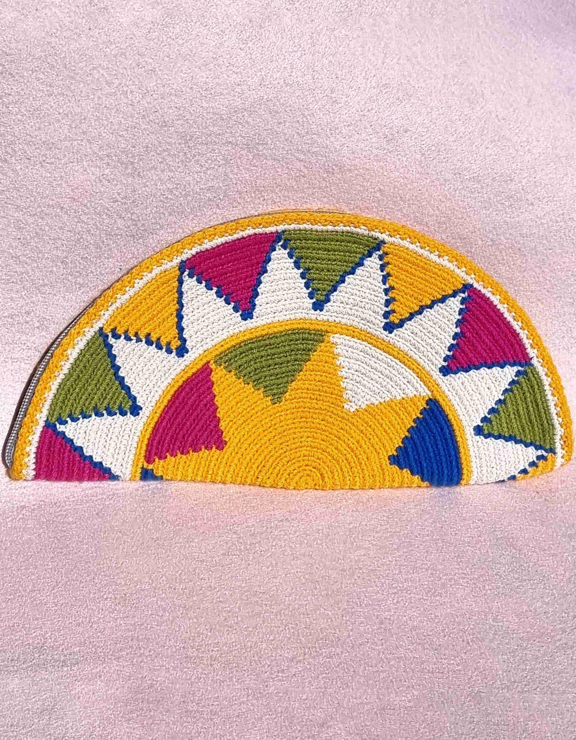 Cartera Wayuu Original Auténtica sólo 1 igual-F
